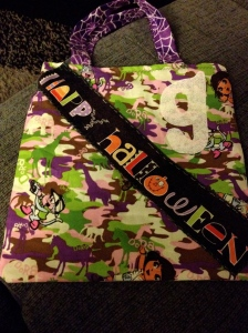 g Halloween trick or treat bag