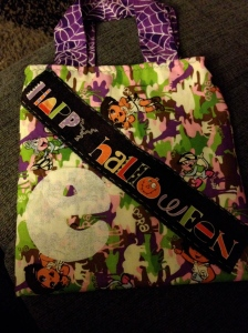 e Halloween trick or treat bag