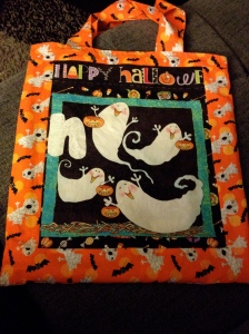 N Halloween trick or treat bag