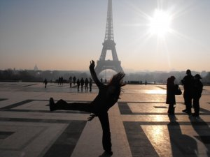 This is me jumping in Paris 5 years ago. A happy time for me.