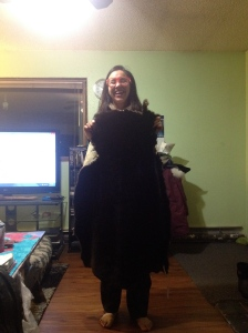 I am also now a proud owner of a sea otter pelt!