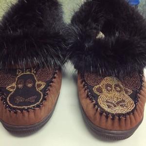 moose slippers